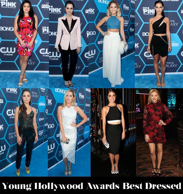 Who Was Your Best Dressed At The Young Hollywood Awards?