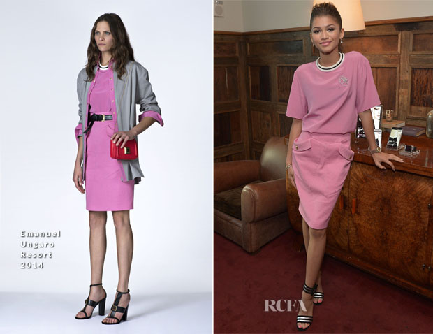 Zendaya Coleman In Emanuel Ungaro - 'Letters To The Men I Have Loved' Book Launch Dinner