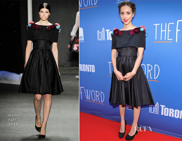 Zoe Kazan In  Honor - 'The F Word' Toronto Premiere