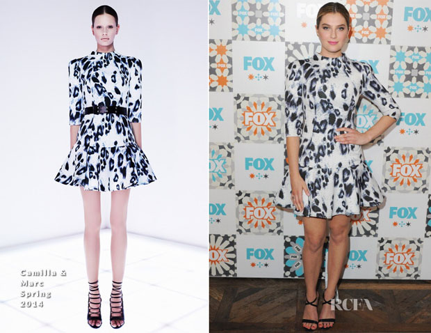 Zoe Levin In Camilla and Marc - FOX All-Star Party