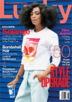 Solange Knowles For Lucky Magazine August 2014