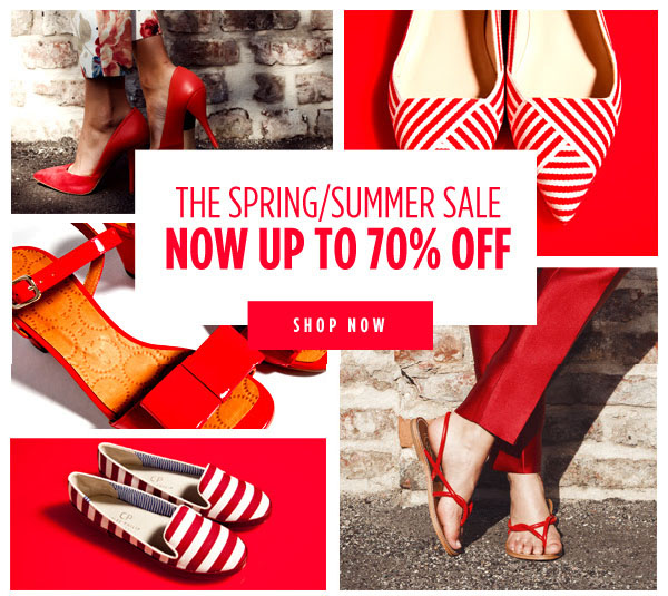Get Up To 70% Off In The shoescribe Spring/Summer Sale