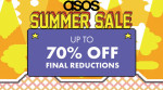 Get Up To 70% off In The ASOS Summer Sale Final Reductions