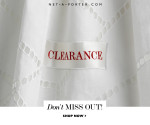 The Net-A-Porter Clearance Sale Is Now On