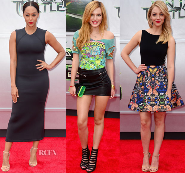 'Teenage Mutant Ninja Turtles' LA Premiere Red Carpet Roundup