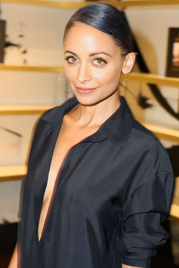 Nicole Richie in Anthony Vaccarello