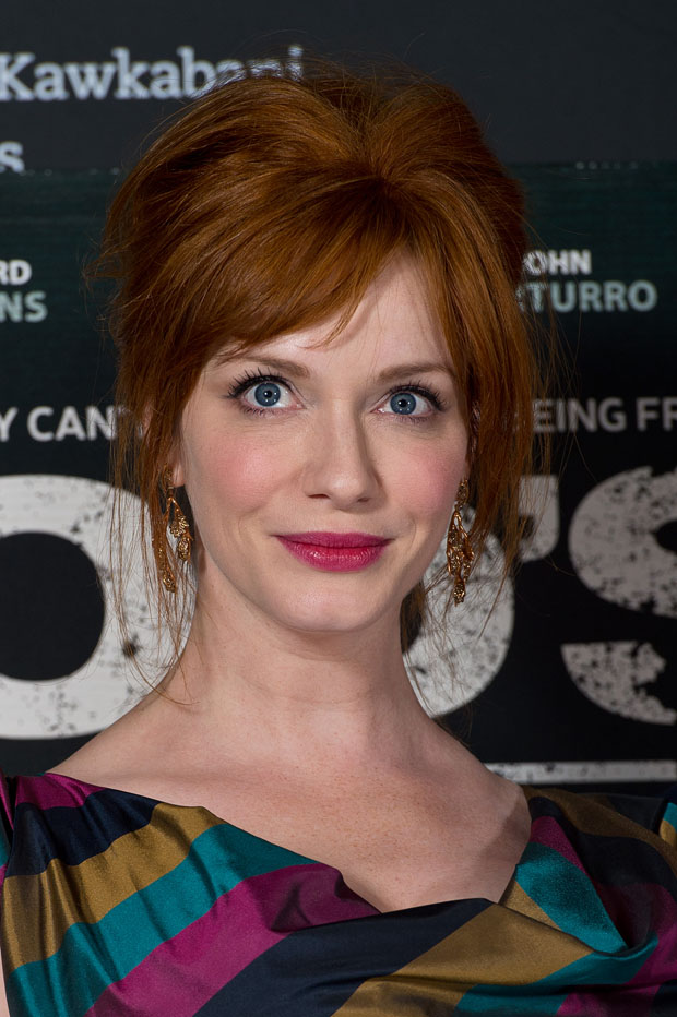 Christina Hendricks in Vivienne Westwood