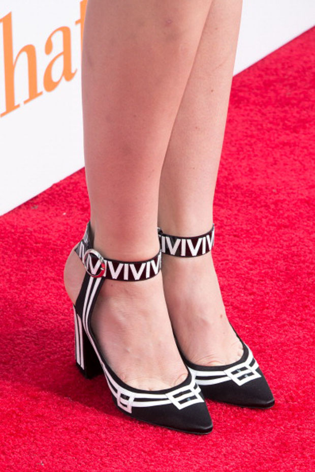 Mackenzie Davis' Louis Vuitton shoes