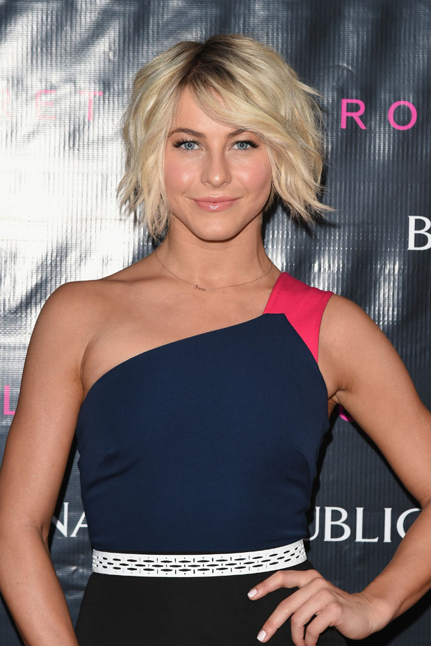 Julianne Hough in Roland Mouret for Banana Republic
