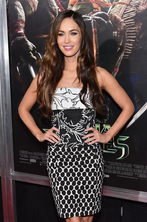 Megan Fox  in Oscar de la Renta
