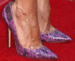 Aubrey Plaza's Jimmy Choo pumps