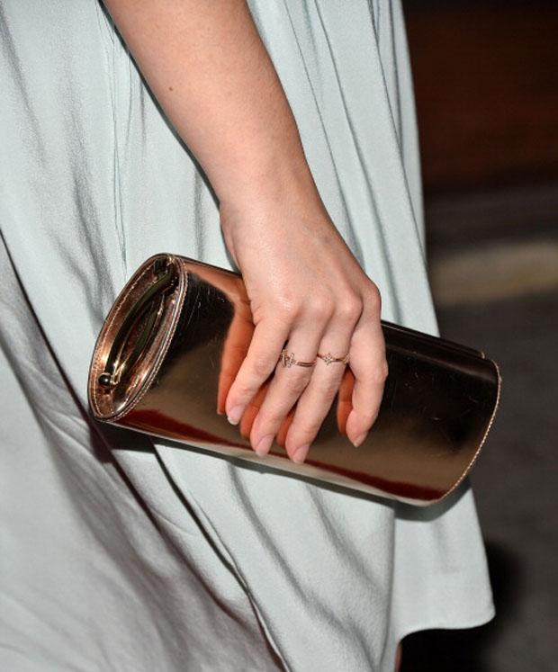 Elisabeth Moss' Jimmy Choo clutch