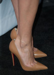 Aubrey Plaza's Valentino shoes