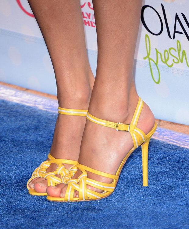 Taylor Swift's Charlotte Olympia 'Admiral' knotted sandals