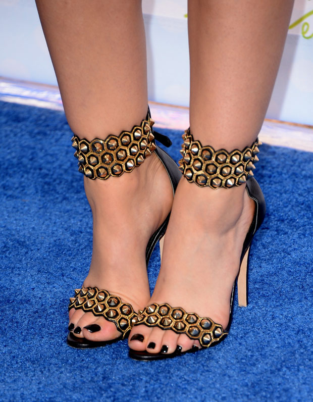 Lucy Hale's Brian Atwood sandals