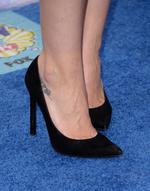 Hilary Duff's Stuart Weitzman pumps