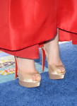 Odeya Rush's Louboutin shoes
