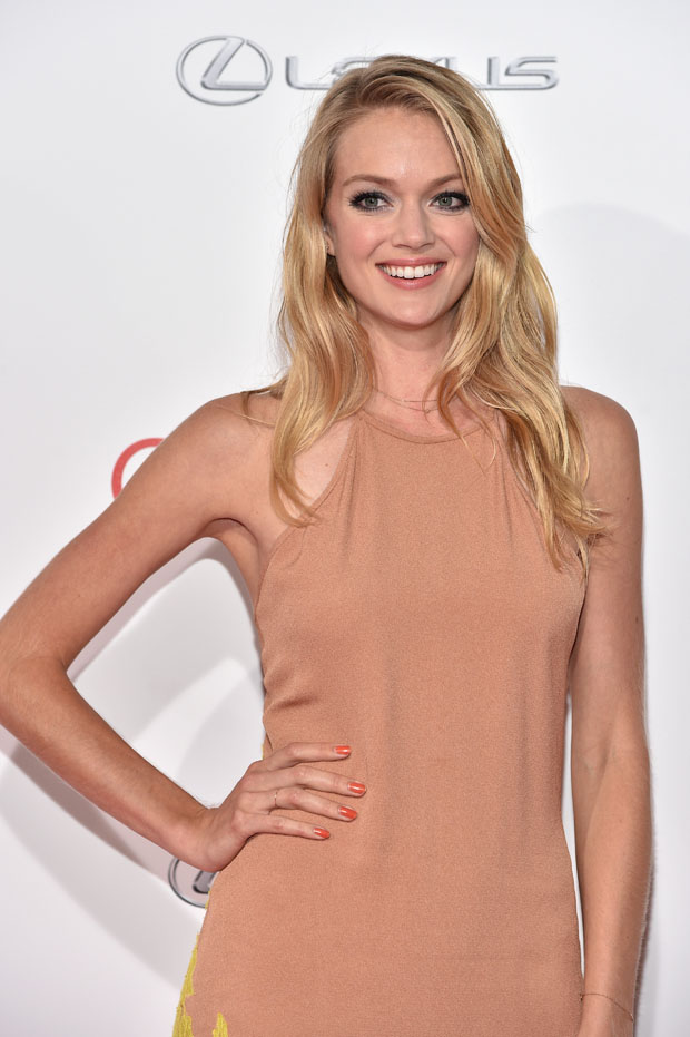 Lindsay Ellingson in Wes Gordon