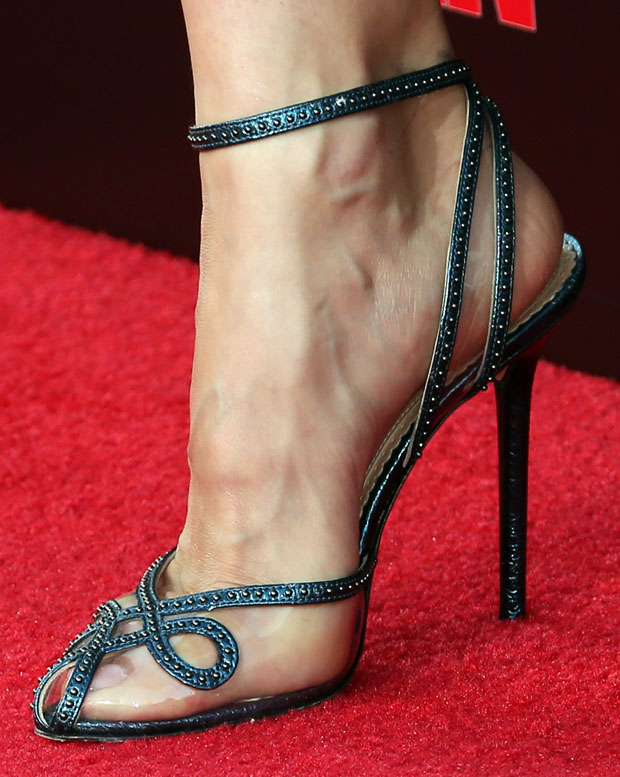 Olga Kurylenko's shoes