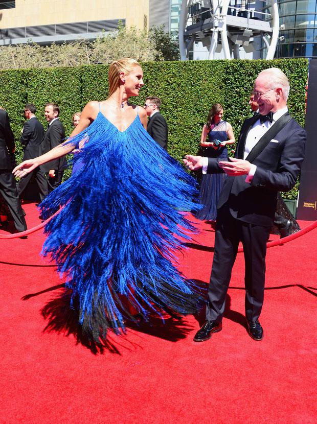 Heidi Klum in Sean Kelly