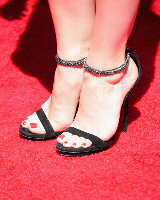 Judy Greer's sandals