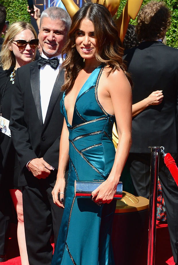 Nikki Reed in Versace