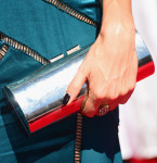 Nikki Reed's clutch