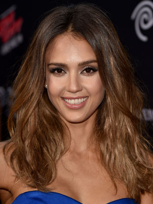 Get The Look: Jessica's Alba's Glamorous Rocker Hair
