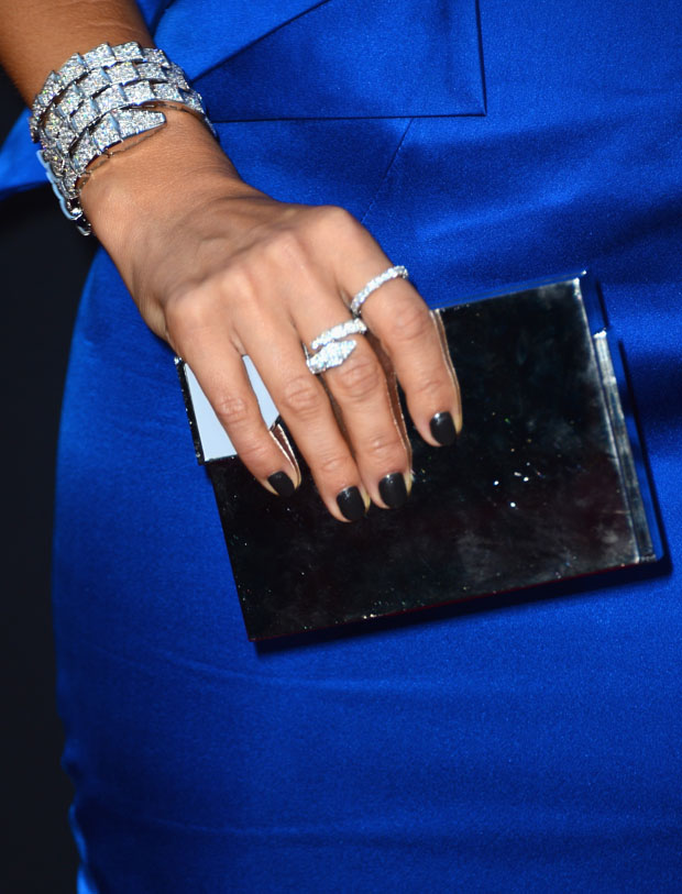 Jessica Alba's Lee Savage clutch