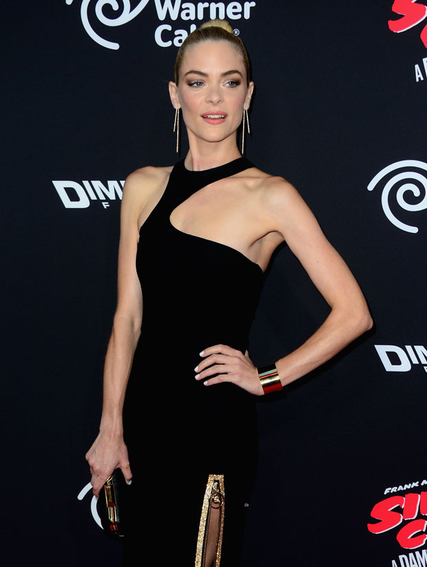 Jaime King in Versace