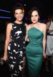 Jessica Pare in Thakoon and Michelle Dockery in Zac Posen