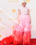 Lena Dunham In Giambattista Valli Couture - 2014 Emmy Awards