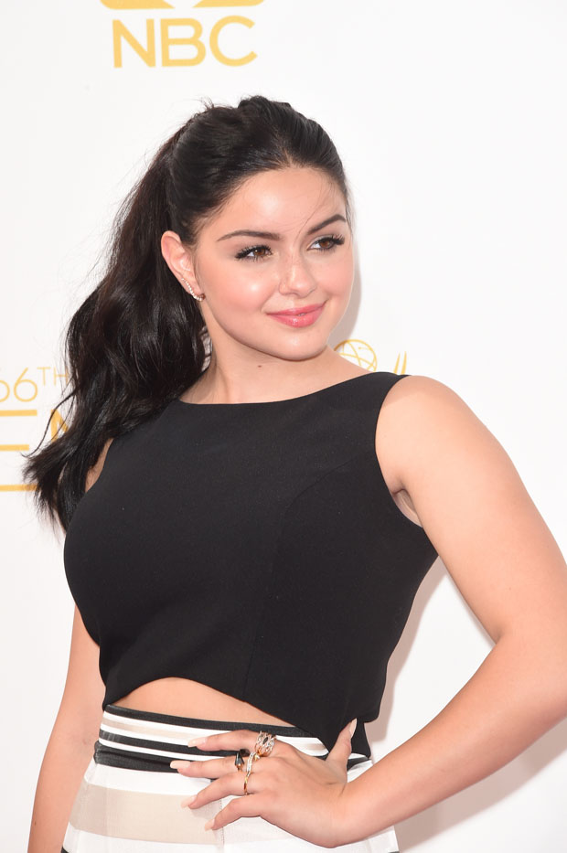 Ariel Winter in Black Halo Eve