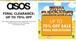 Final Reductions In The ASOS Sale