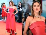 Alessandra Ambrosio In Alberta Ferretti - 'La Rancon De La Gloire' Premiere