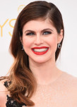 Get The Look: Alexandra Daddario's Movie Star Glamour Emmy Awards Makeup