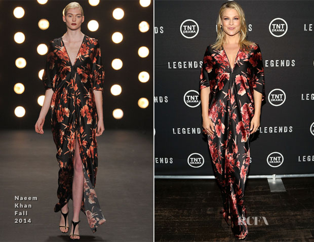 Ali Larter In Naeem Khan - 'Legends' Series Premiere