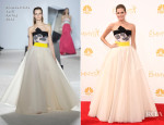 Allison Williams In Giambattista Valli Couture - 2014 Emmy Awards