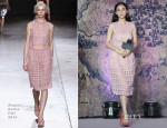 Angelababy In Simone Rocha - 'The Ghouls' Beijing Press Conference