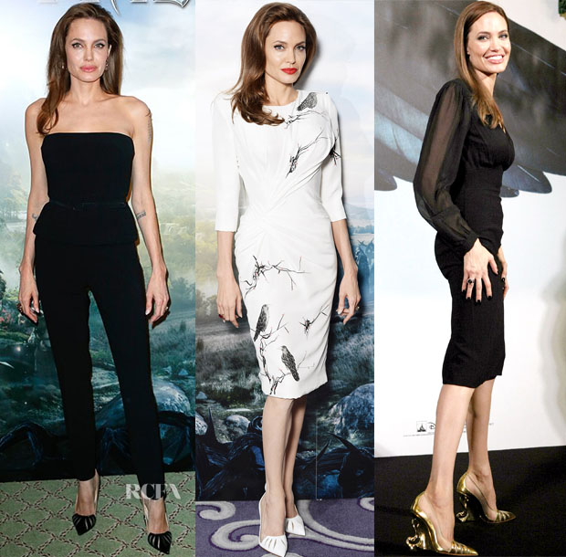 Angelina Jolie Collaborates With Christian Louboutin - Red Carpet ... 1803c98cb