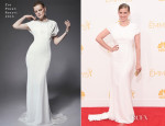 Anna Chlumsky In Zac Posen - 2014 Emmy Awards