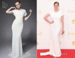 Anna Chlumsky In Zac Posen - 2014 Emmy Awards