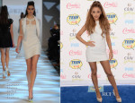 Ariana Grande In Georges Chakra Couture - 2014 Teen Choice Awards