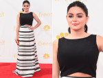 Ariel Winter In Black Halo Eve - 2014 Emmy Awards