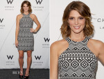 Ashley Greene In Parker - W Chicago Lakeshore Renovation Reveal Party