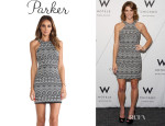 Ashley Greene's Parker 'Mariah' Printed Dress