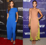 Ashley Madekwe In Christian Dior & Wes Gordon - BAFTA Los Angeles TV Tea Party & Variety And Women In Film Emmy Nominee Celebration
