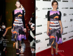 Aubrey Plaza In Peter Pilotto - 'About Alex' LA Premiere