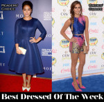 Best Dressed Of The Week - Gina Rodriguez In LaQuan Smith, Nina Dobrev In Vionnet, Robert Pattinson & Channing Tatum In Gucci