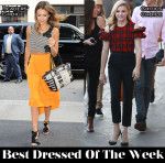 Best Dressed Of The Week - Jessica Alba in Houghton & Osman, Chloe Grace Moretz In Simone Rocha, Damon Wayans Jr. In Dolce & Gabbana & Daniel Radcliffe In Raf Simons